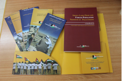 BADIL's new Handbook and brochures on forced population transfer. ( BADIL)